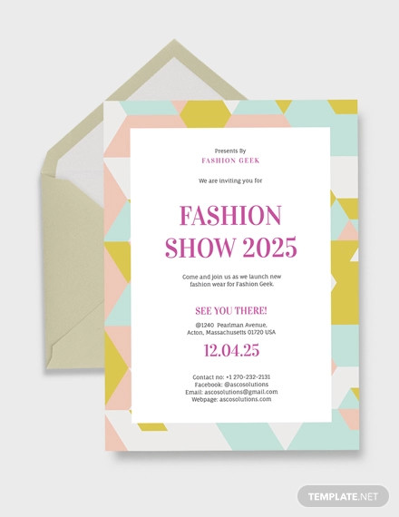 event invitation card template