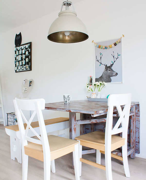 10 small dining table designs ideas design trends for Expandable dining table for small spaces