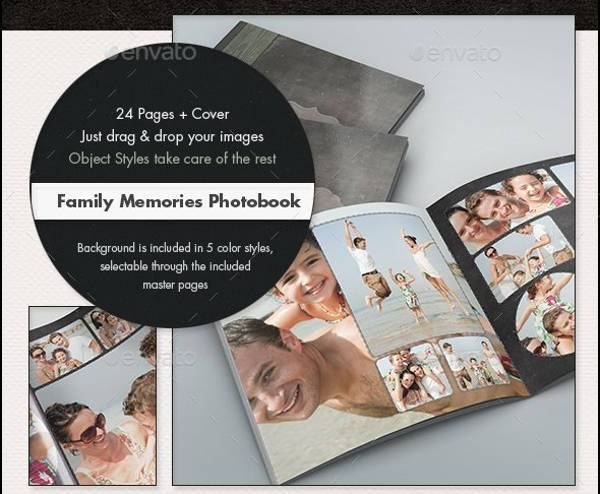 Family Memories Album Design