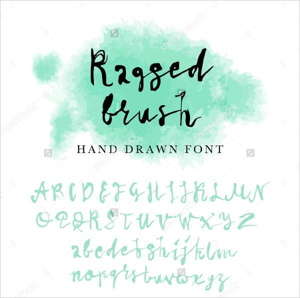 Fancy Handwritten Typography Font