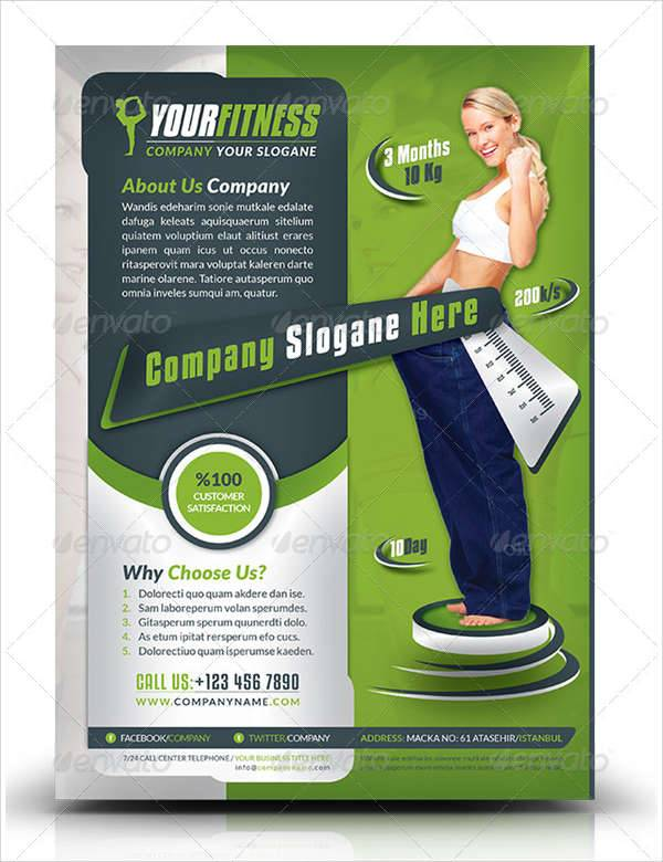 Fitness Center Business Flyer
