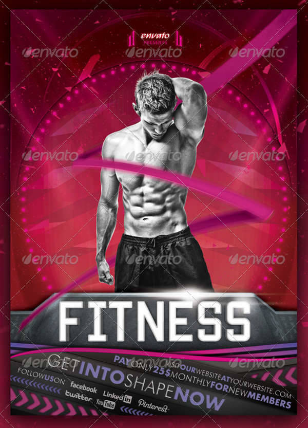Fitness Event Multipurpose Flyer