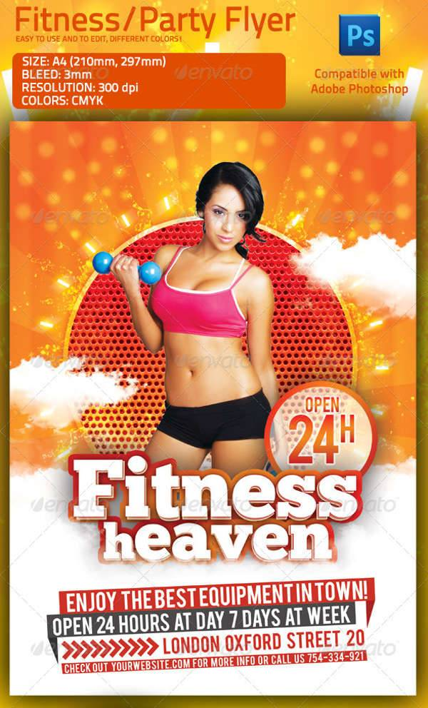 Fitness & Summer Party Multipurpose Flyer