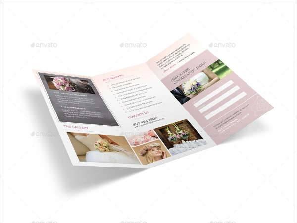 florist planner brochure