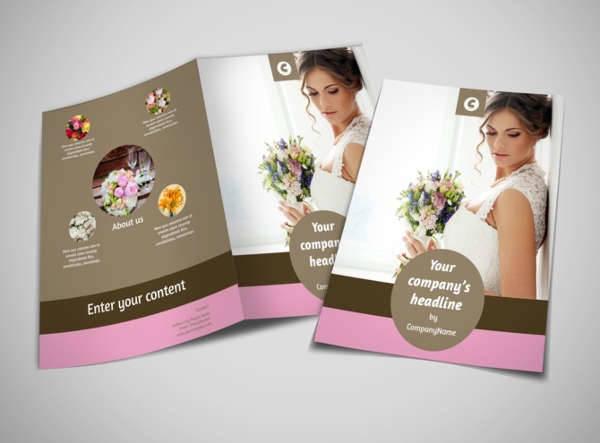 florist wedding brochure