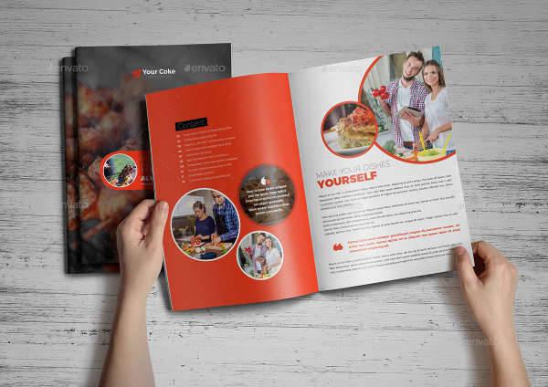Food Recipe Brochure