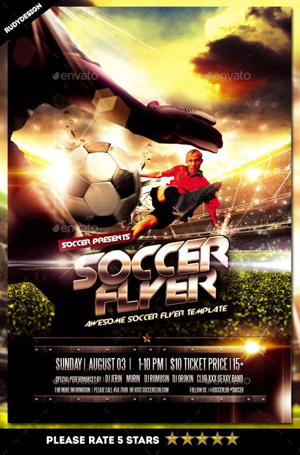 Football Soccer Sports Flyer