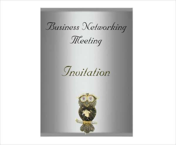 Formal Business Meeting Invitation