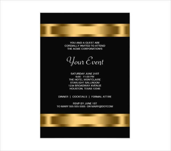 53  formal invitation designs