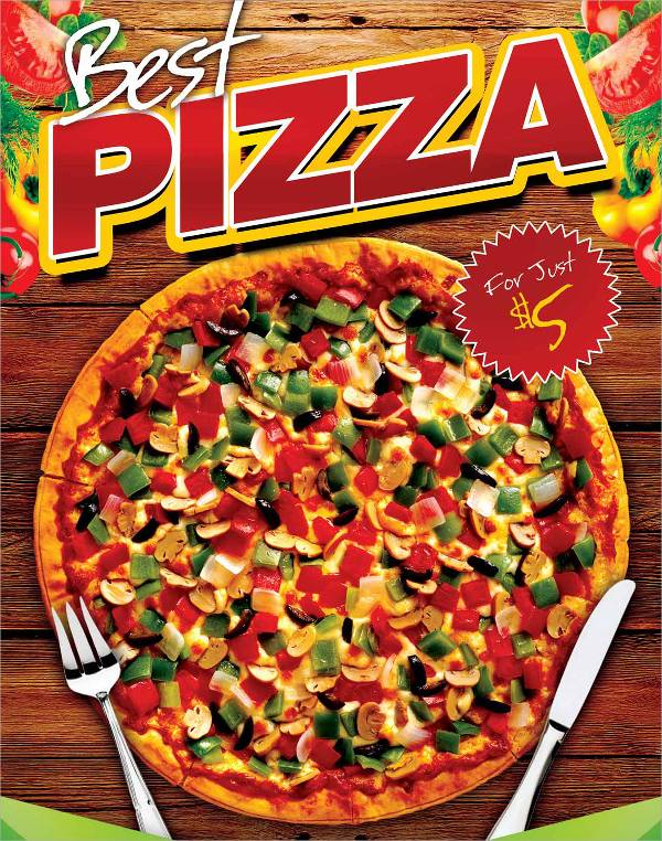 Free Pizza Party Flyer