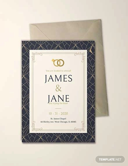 free sample invitation card template