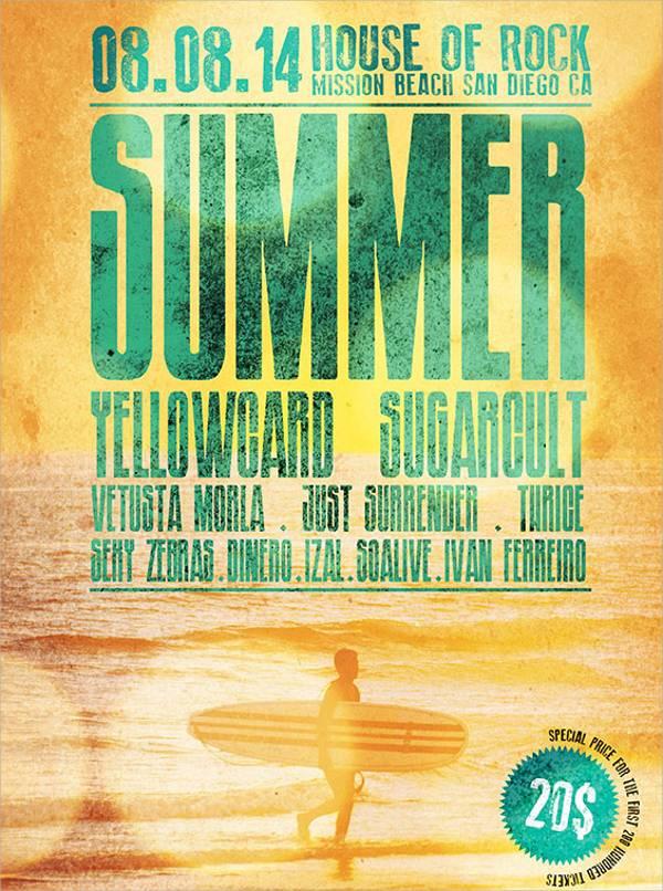 Free Summer Event Flyer