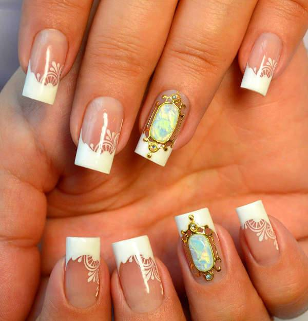 10 Wedding Nail Designs Ideas Design Trends Premium Psd