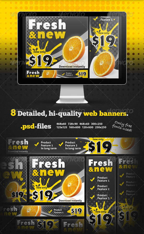 fresh web marketing banner