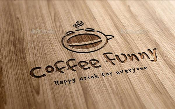 funny coffee logo
