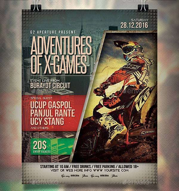 Games Sports Event Flyer