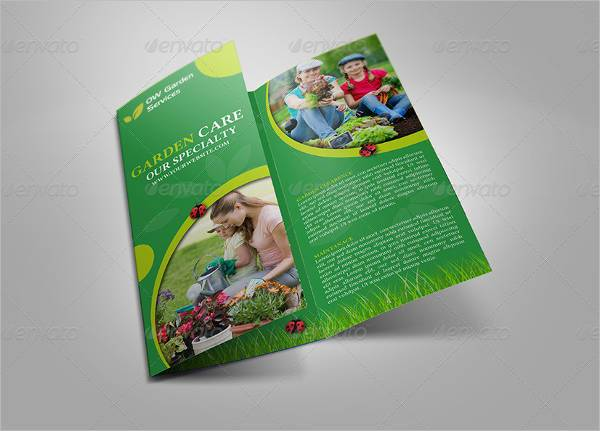 Garden Services Tri-Fold Brochure