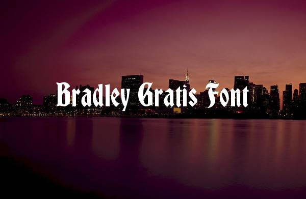 gothic bold calligraphy font