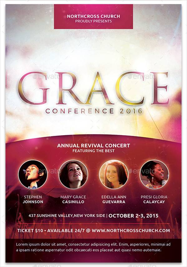 Grace Church Conference Flyer