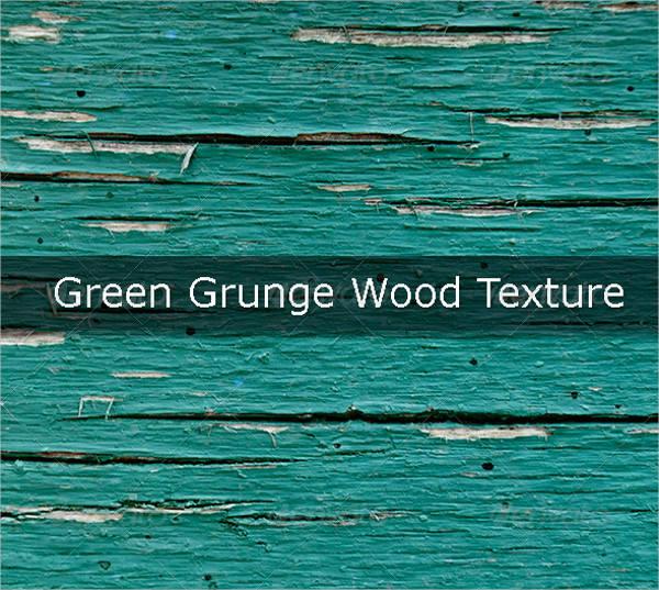 green grunge wood texture