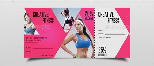 Gym Fitness Voucher