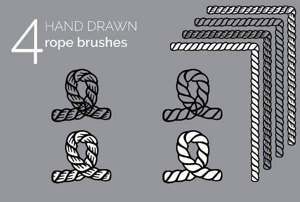 Rope Border Illustrator