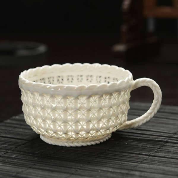 handmade woven cup