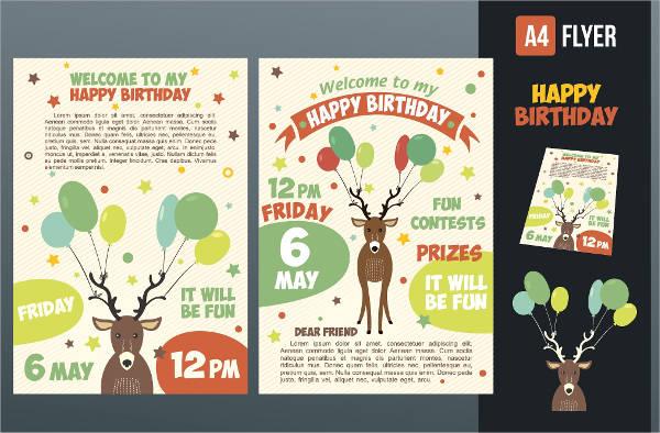 happy birthday invitation card1