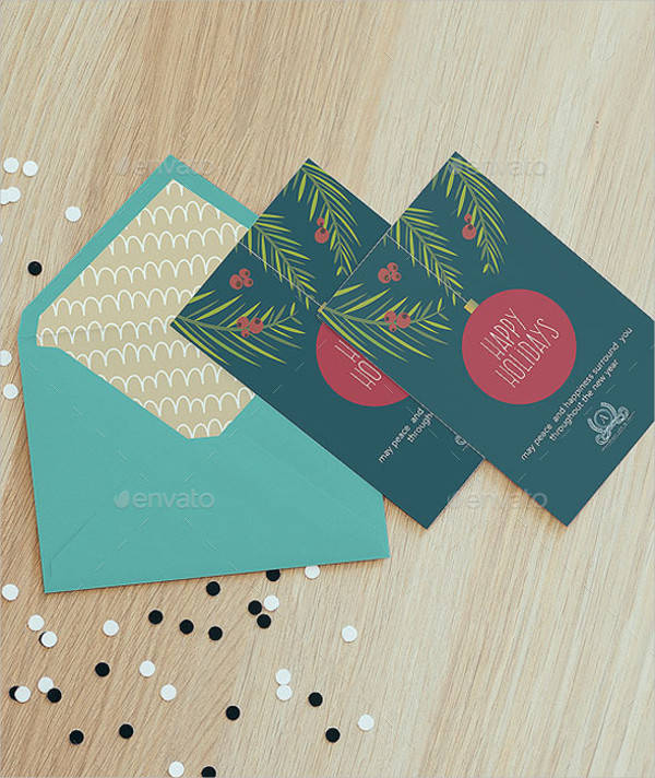 Happy Holiday Business Card