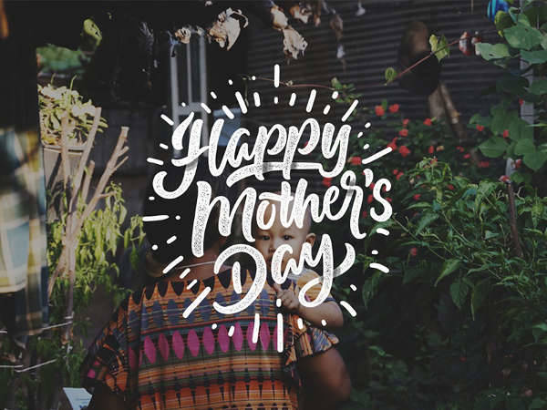 Happy Mother's Day-Lettering