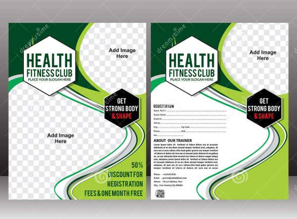 Health & Fitness Flyer Design