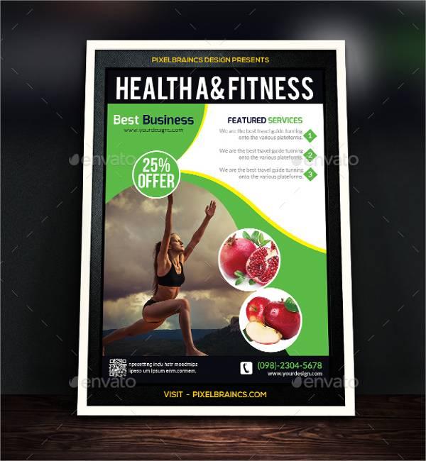 Health & Fitness Flyer