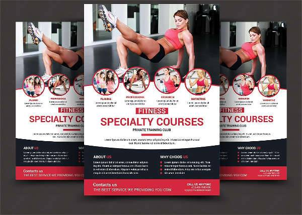 Health & Fitness Sports Flyer