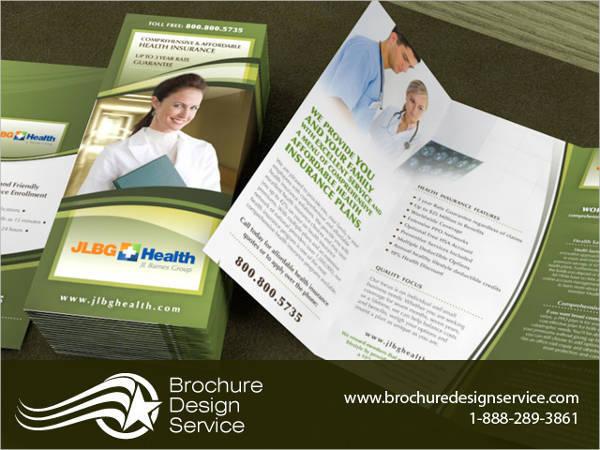 Health Insurance Company Brochure
