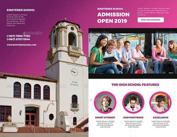 High School Bifold Brochure
