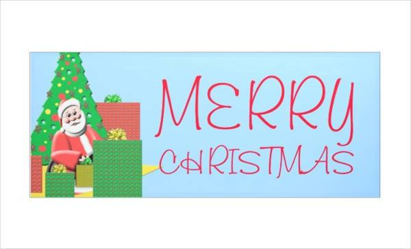 holiday christmas banner