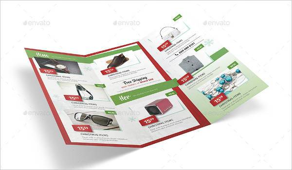 Holiday Sales Brochure