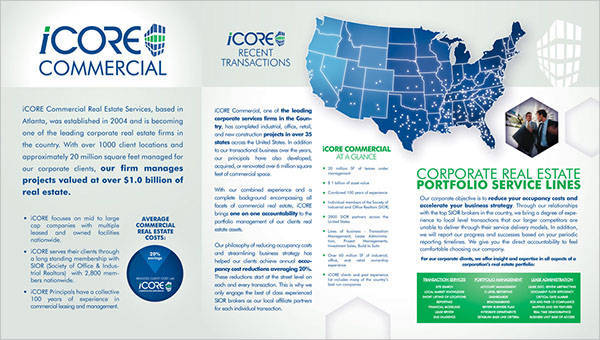 ICore Commercial Real Estate Brochure