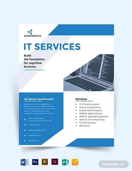 it business flyer
