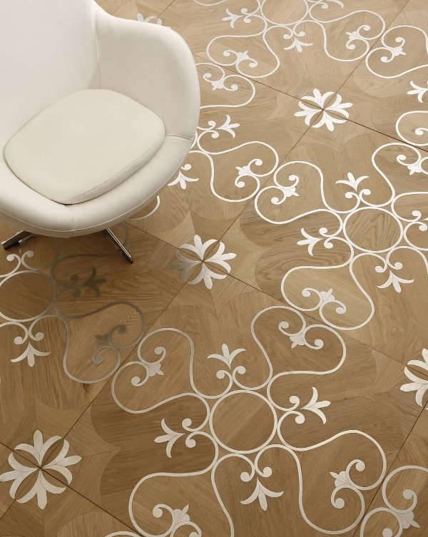 inlaid wood flooring
