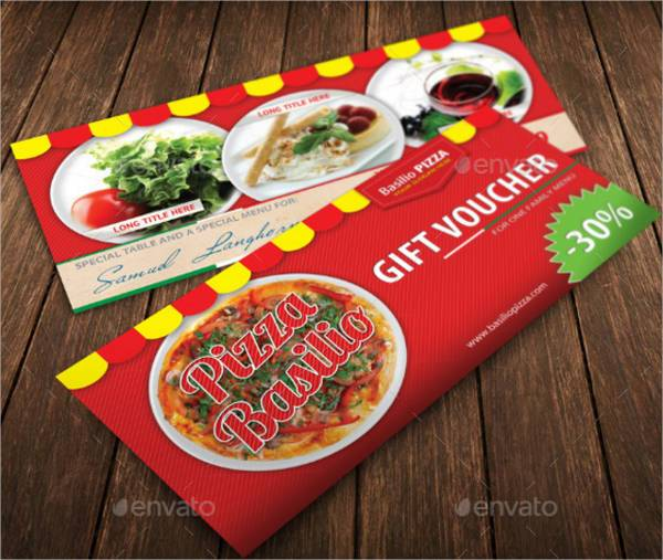 Italian Pizza Restaurant Voucher