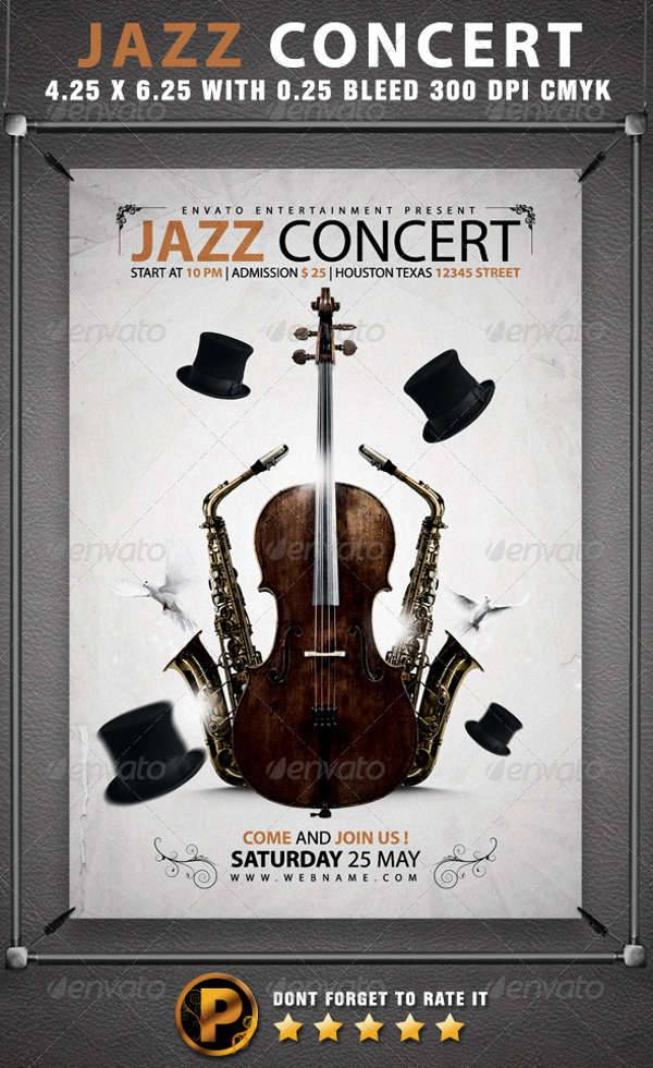 Jazz Music Concert Flyer