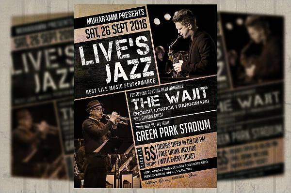 Jazz Music Event Flyer