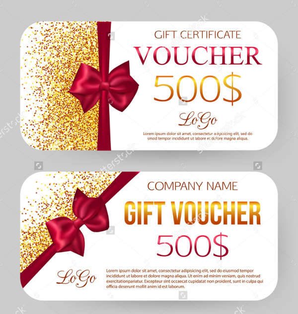 -Jewelery Gift Voucher Card