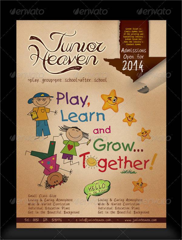 Junior School Admission Event Flyer