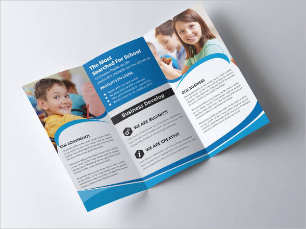 Junior School Trifold Brochure