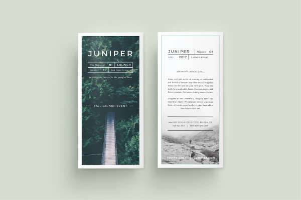Juniper Trifold Brochure
