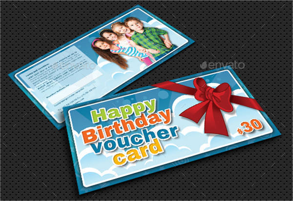 Kids Birthday Gift Voucher