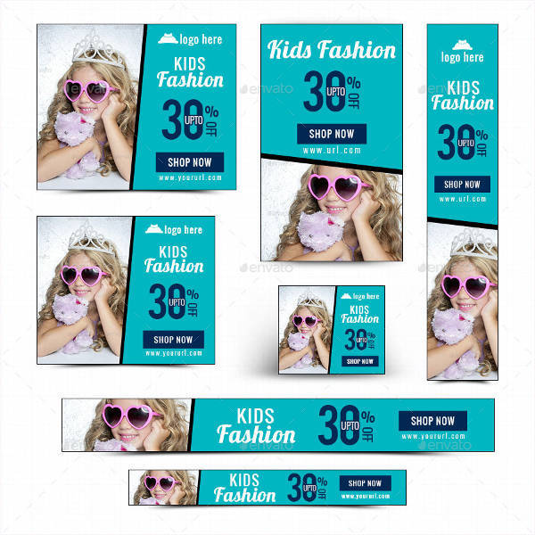 kids fashion banner