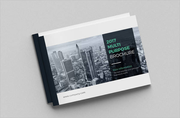 Landscape Advertising Agency Brochure